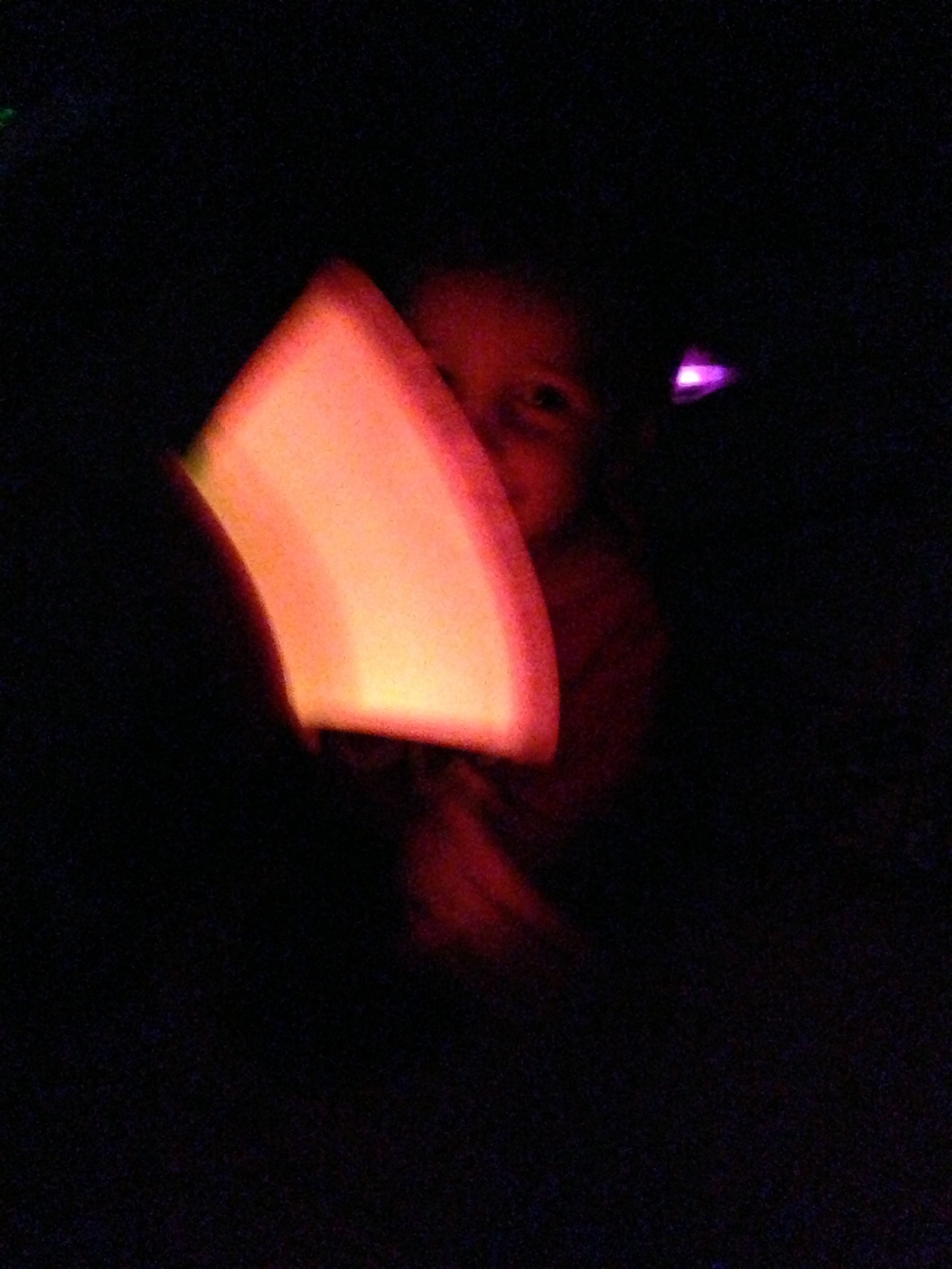 GlowStick Makes for a Happy Toddler